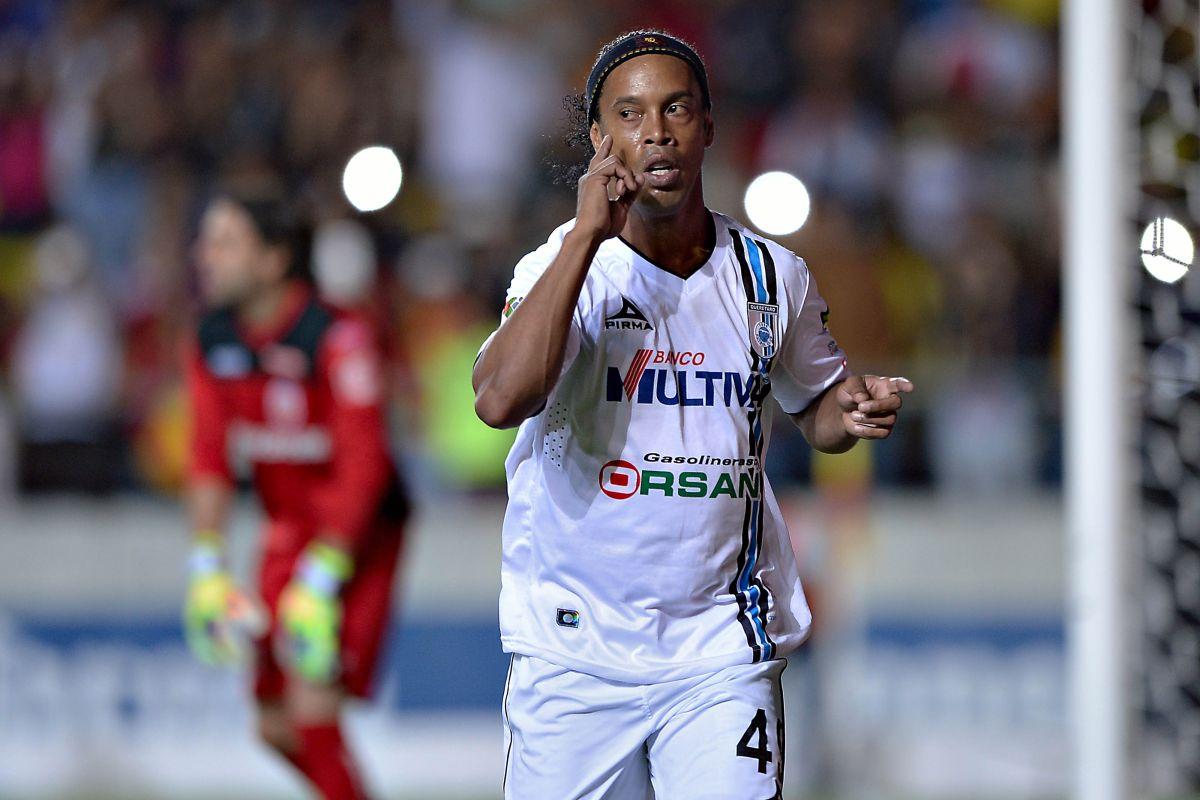 Ronaldinho y los Gallos Blancos han venido de menos a más.