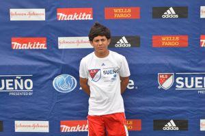 Joven de 15 años es seleccionado al Sueño MLS