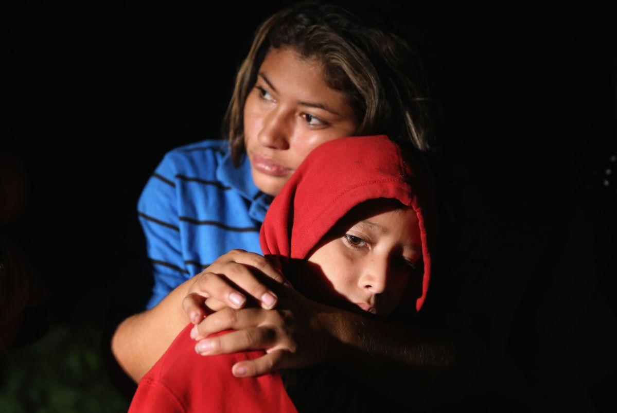 Entre  abril y mayo, un total de 1,995 niños fueron separados de sus padres en la frontera sur