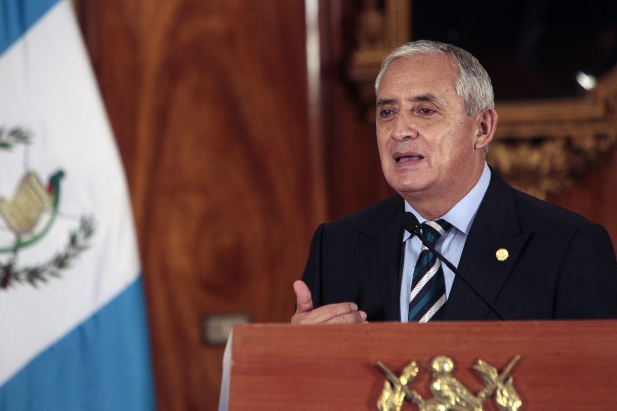 EEUU felicita a Guatemala por el manejo de la crisis con Pérez Molina