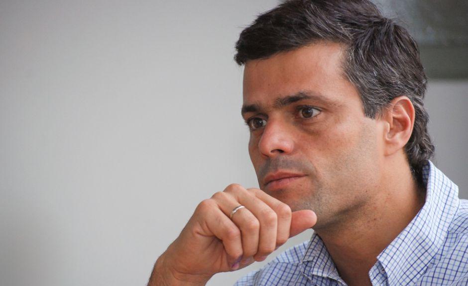 Leopoldo López alerta sobre un posible atentado en su contra
