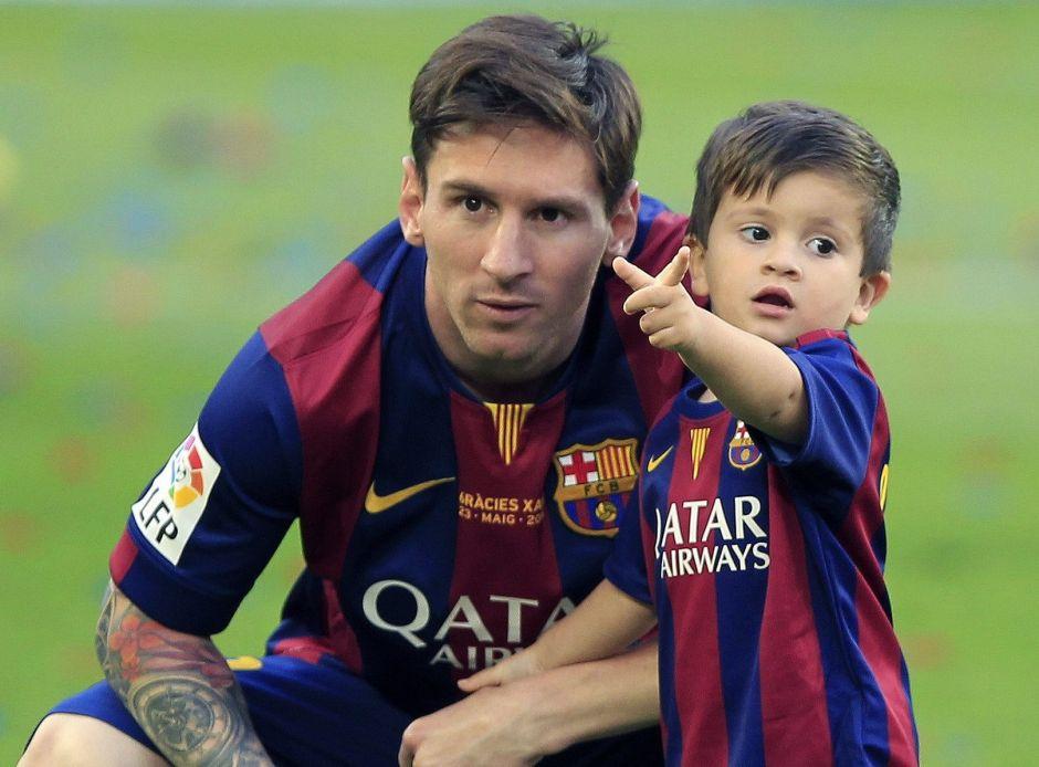 Publican un 'pedacito' del segundo hijo de Messi