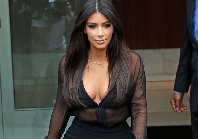Kim Kardashian presumió la primera foto de su hijo Saint West
