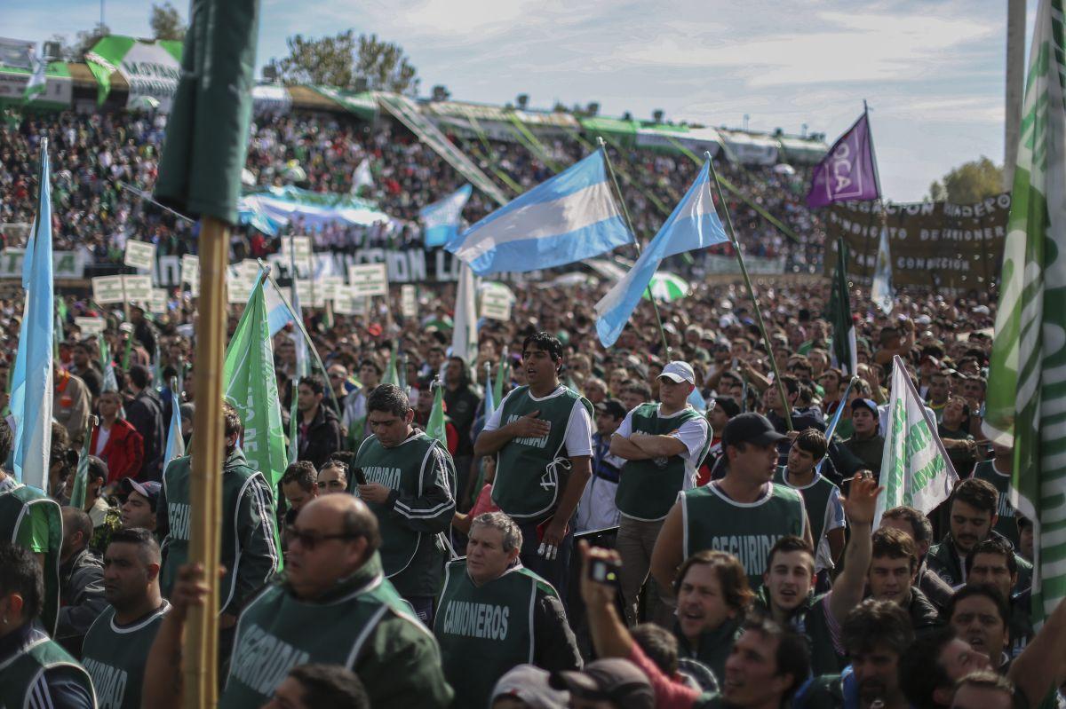 El sindicalismo argentino listo para la huelga general
