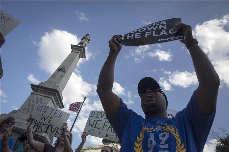 El tiroteo en Charleston reaviva el debate sobre bandera confederada en EEUU