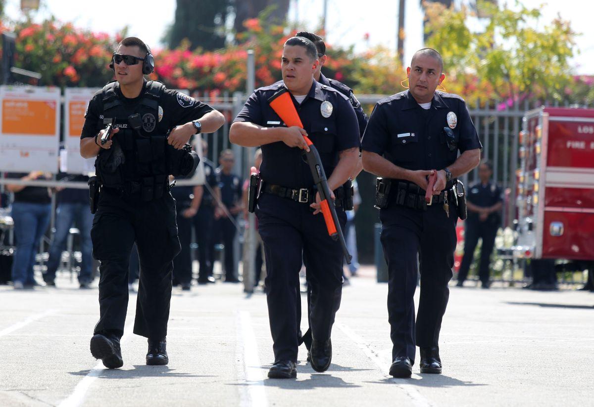 Latinos, los más involucrados en tiroteos con el LAPD en 2015