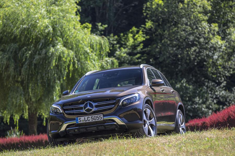 El sorprendente Mercedes GLC 2016