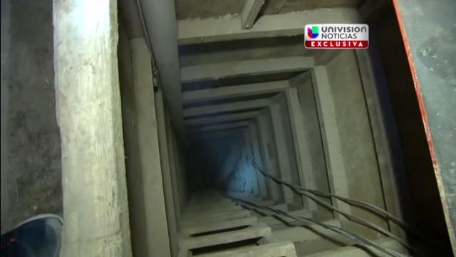 Recorrido por el túnel por el que se fugó El Chapo (VIDEO)