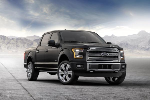Con la F-150 Limited, Ford continúa aprovechando las estupendas ventas de su pick up.