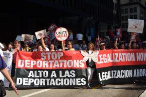 División, futbol y apatía minaron las marchas proinmigrantes