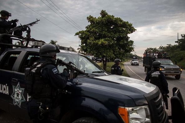 Soldados Iguala  Mexico