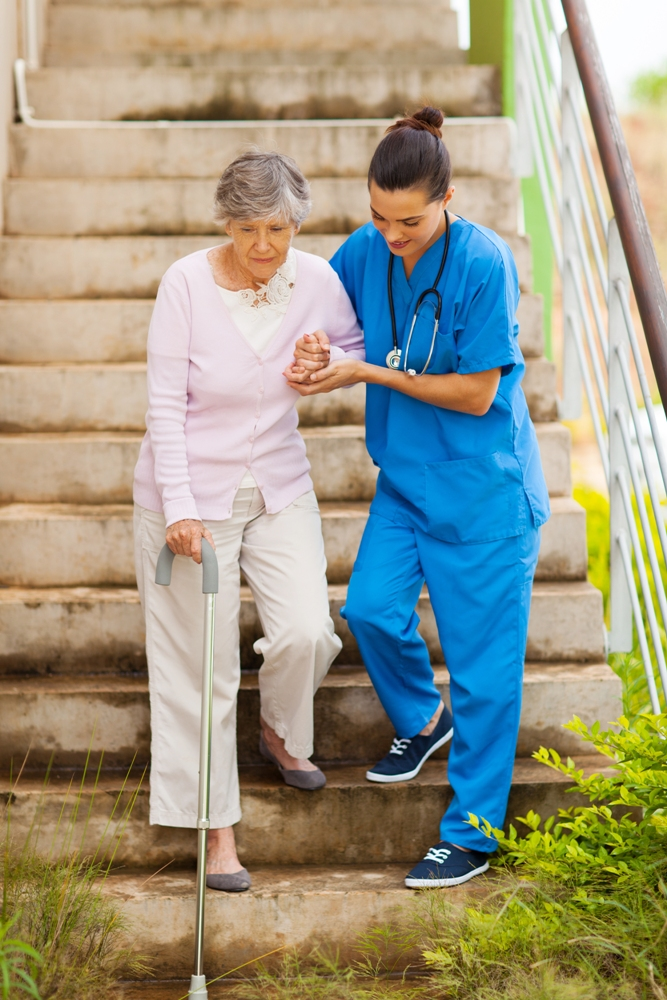 Muchos estadounidenses tienen una gran dificultad para caminar o subir escaleras.