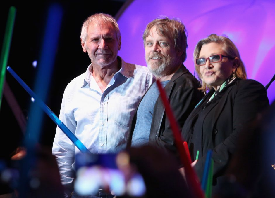 Emotivo tuit de Mark Hamill a Carrie Fisher conmueve a fans de Star Wars