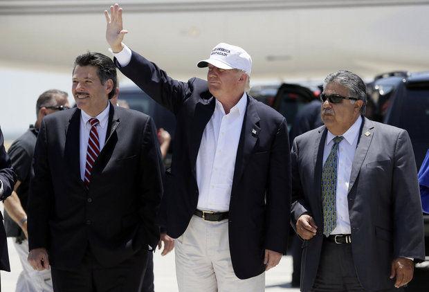 Trump visita la frontera pese a cancelación de Patrulla Fronteriza
