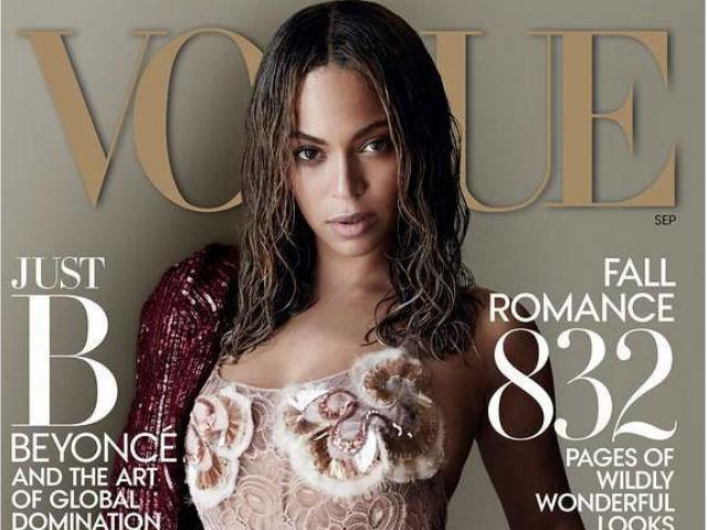 Beyoncé luce más sexy que nunca en la portada de Vogue