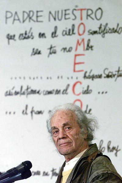 Premio Cervantes al poeta Nicanor Parra