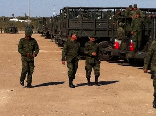 México refuerza zonas de riesgo