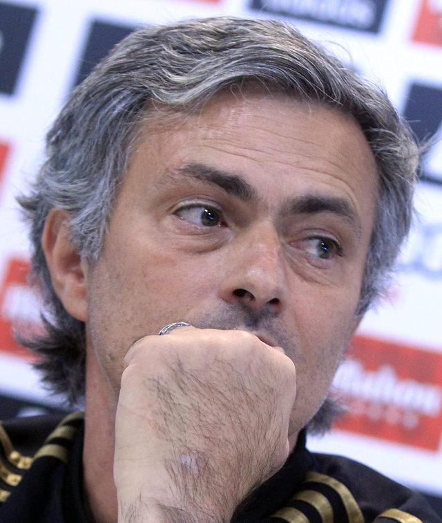 José Mourinho, experto en candados defensivos.