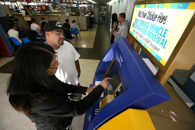 El DMV se automatiza