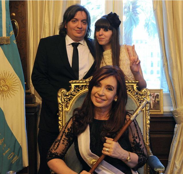 Fernández jura su segundo mandato