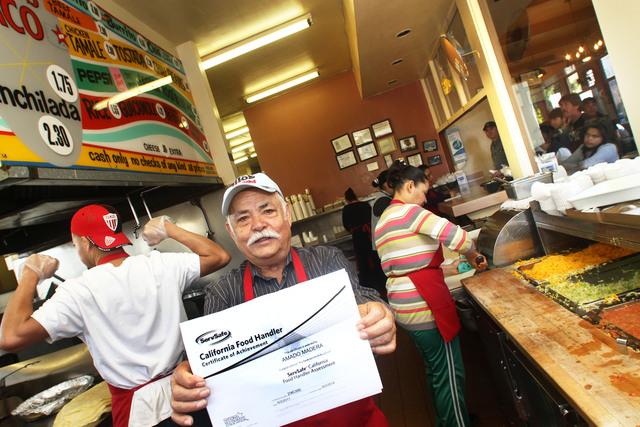 Nueva licencia para cocineros