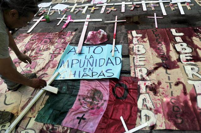 Chiapas recuerda  la matanza de Acteal