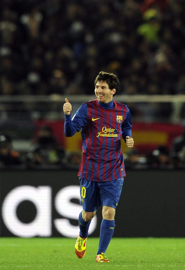 Pep consiente a Lionel Messi