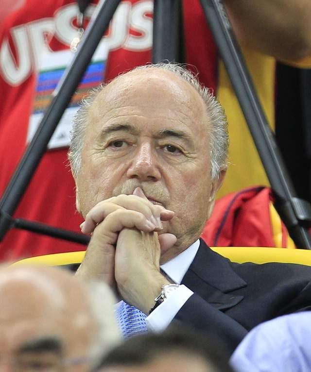 Bomba contra Blatter