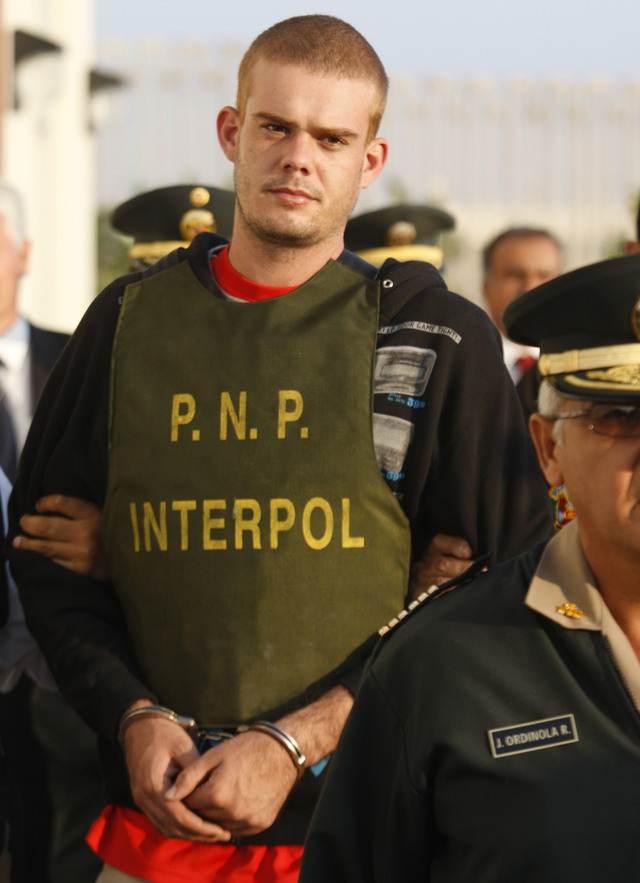 Empieza  juicio  a  Van der Sloot