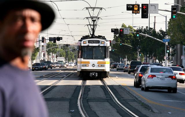 Subidas y bajadas del transporte en CA