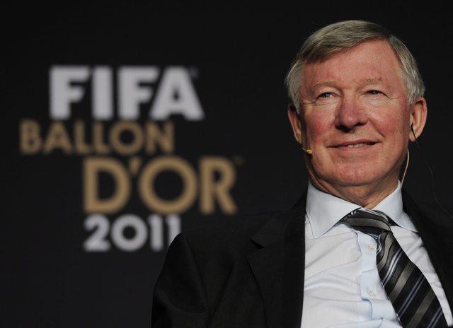 La FIFA premia  a Sir Alex Ferguson