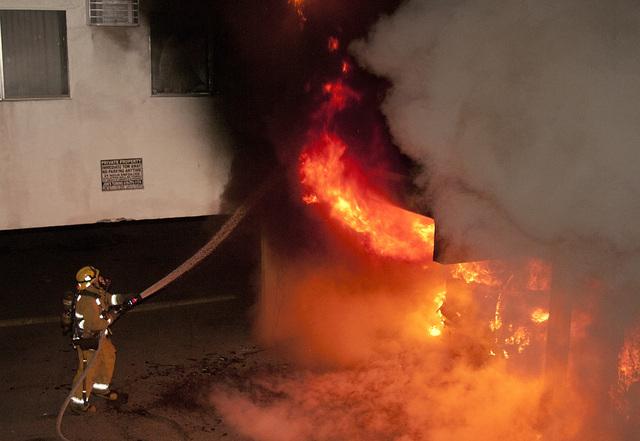 Incendio dañó edificio de templo mormón de LA