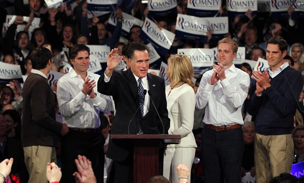 Mitt Romney gana en New Hampshire