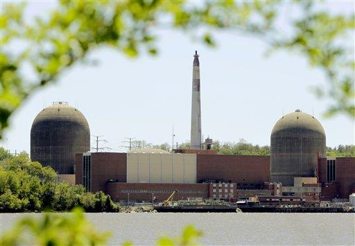 Averiada la central nuclear de NY