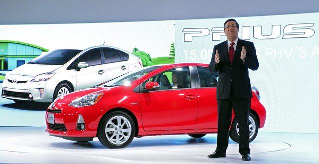 Presentan el  nuevo  Prius