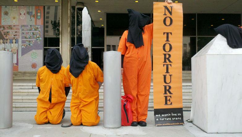 Protestan contra tortura en Guantánamo