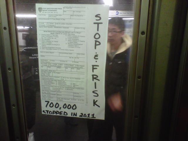 Stop and Frisk viaja en el tren A