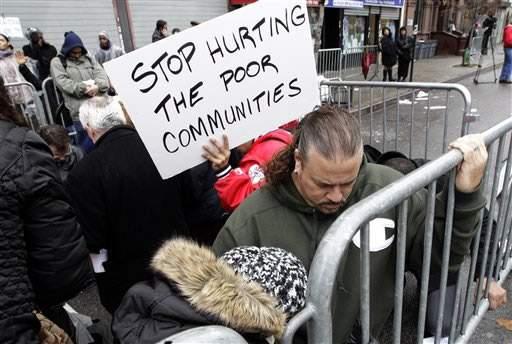 Detienen a 43 por protestar contra Bloomberg