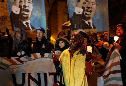 """""""Indignados"""" conmemoran cuatro meses en NYC"""