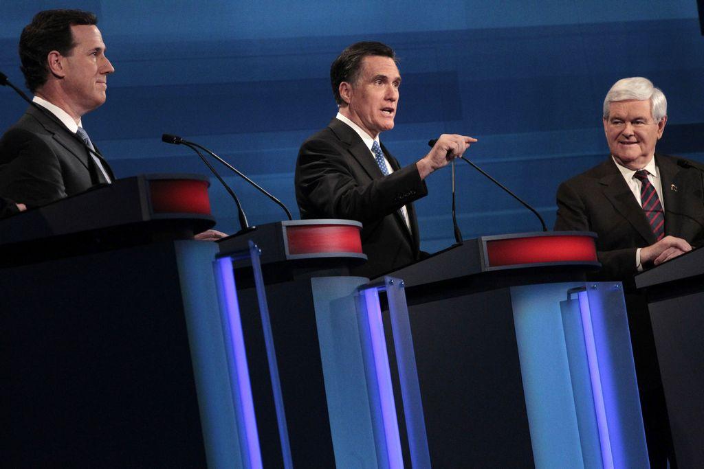Todos contra Romney en debate en Carolina del Sur