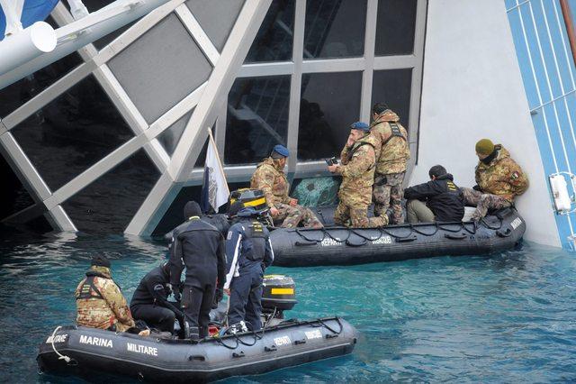Suspenden operaciones de rescate en el Costa Concordia