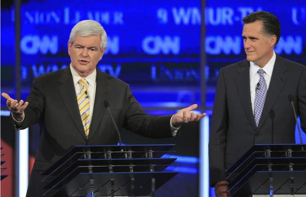Gingrich acorta ventaja de Romney