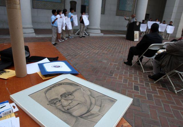 Los Angeles honra a monseñor Óscar Romero