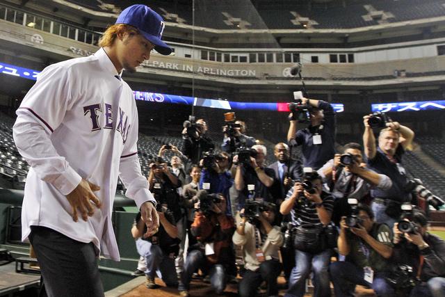 Rangers presentan  a su nueva estrella
