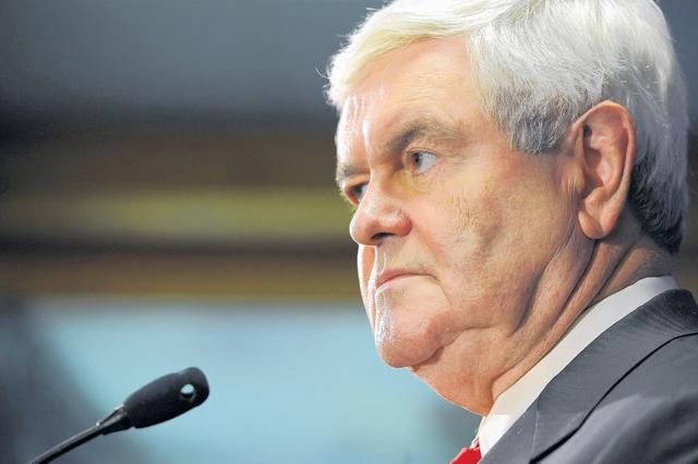 Gingrich pide que bloqueen a Romney