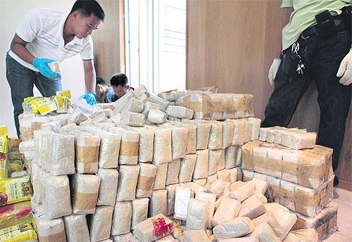 Incautan en Tailandia droga con valor de más de 30 mdd