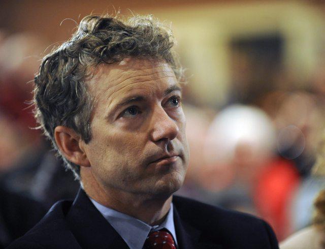 Detenido  senador  Rand Paul