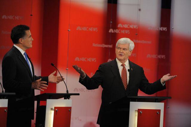 Hoy llueven los golpes entre candidatos republicanos