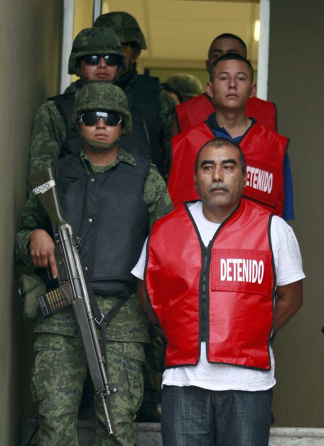 Caen sicarios de Los Zetas