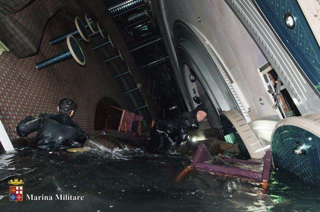 Más víctimas en  crucero italiano